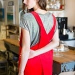 Red Cord Apron