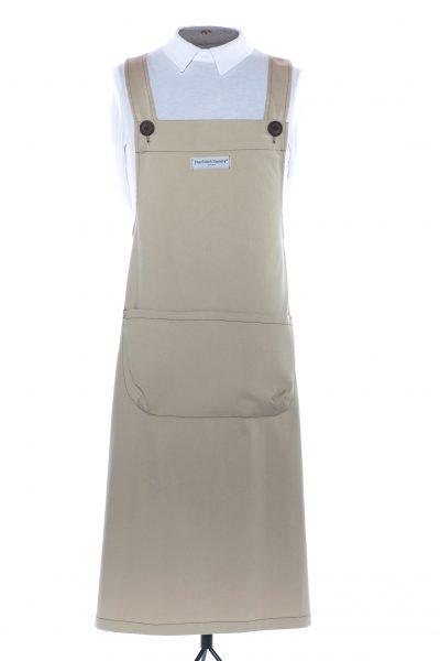 Cream Martha Pinafore Apron