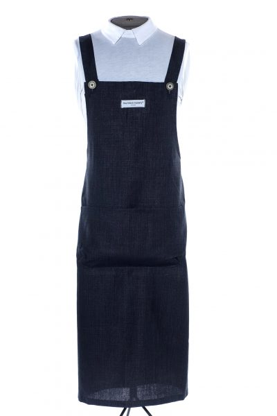 Denim Linen Martha Pinafore Apron