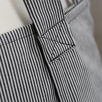 Stripe Susie Pinafore Apron Back Detail sq