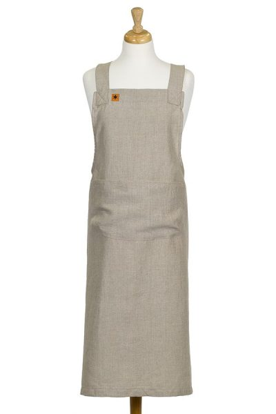 Natural Linen Susie Pinafore Apron