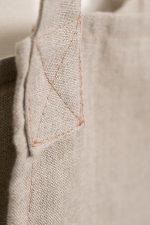 Natural Linen Susie Pinafore Apron Back Detail sq