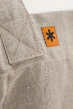 Natural Linen Susie Pinafore Apron Detail SQ