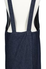 Denim Susie Pinafore Apron Back