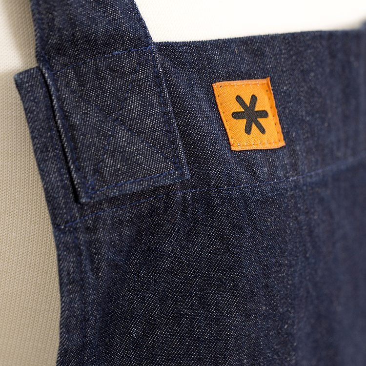 Denim Susie Pinafore Apron Detail Square