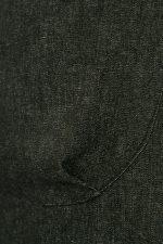 BLACK DENIM POCKET