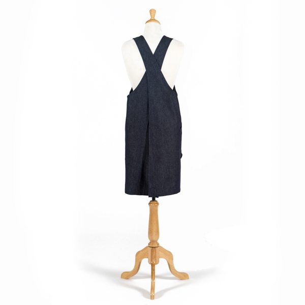 Erin Pinafore Apron, Back Detail