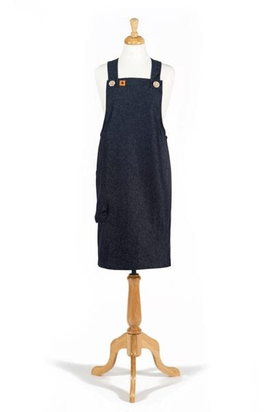 Erin Pinafore Apron in Denim