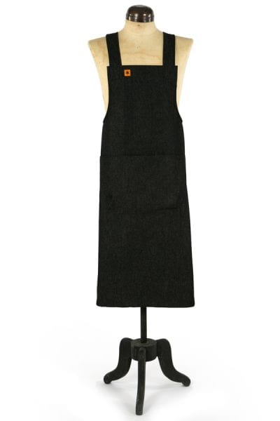 BLACK XDENIM MARTHA PINAFORE APRON