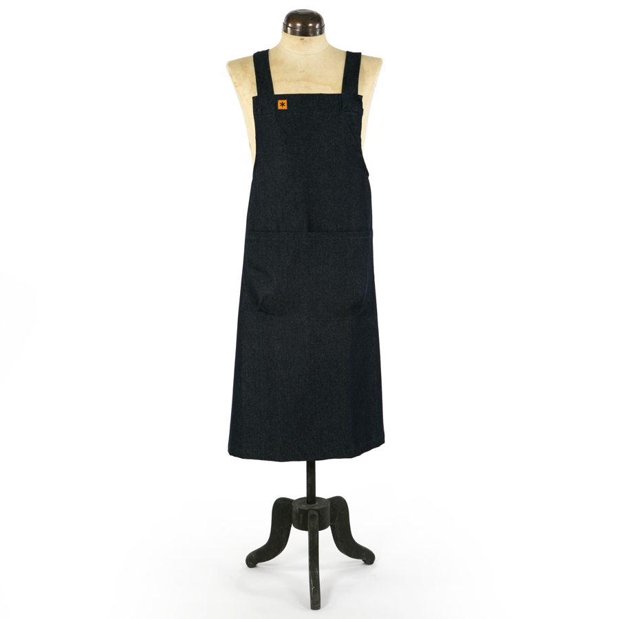 MARTHA DENIM PINAFORE APRON