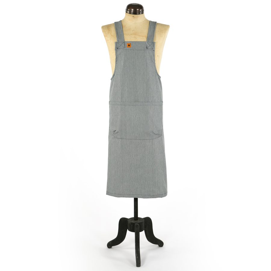 STRIPE MARTHA PINAFORE APRON