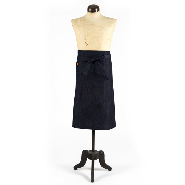 Denim Demi Half Apron
