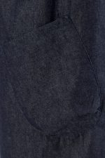 Erin Pinafore Apron in Denim Pocket Detail