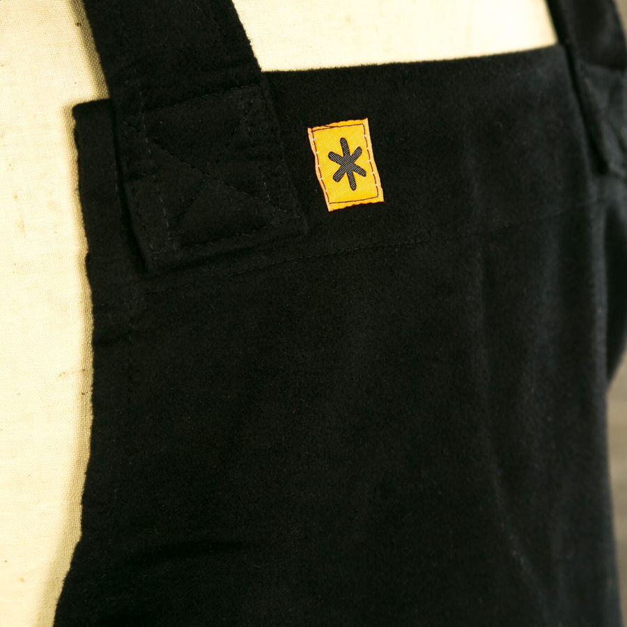 BLACK MOLE GRACE PINAFORE LOGO