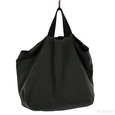 Cotton Tote Bag Grey