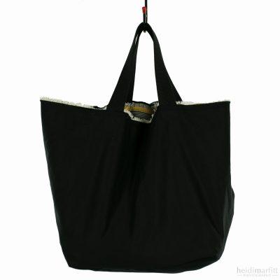 Cotton Tote Bag Black