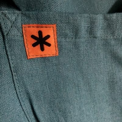 The Smock - Blue Linen