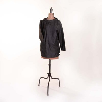 The Smock Black Denim