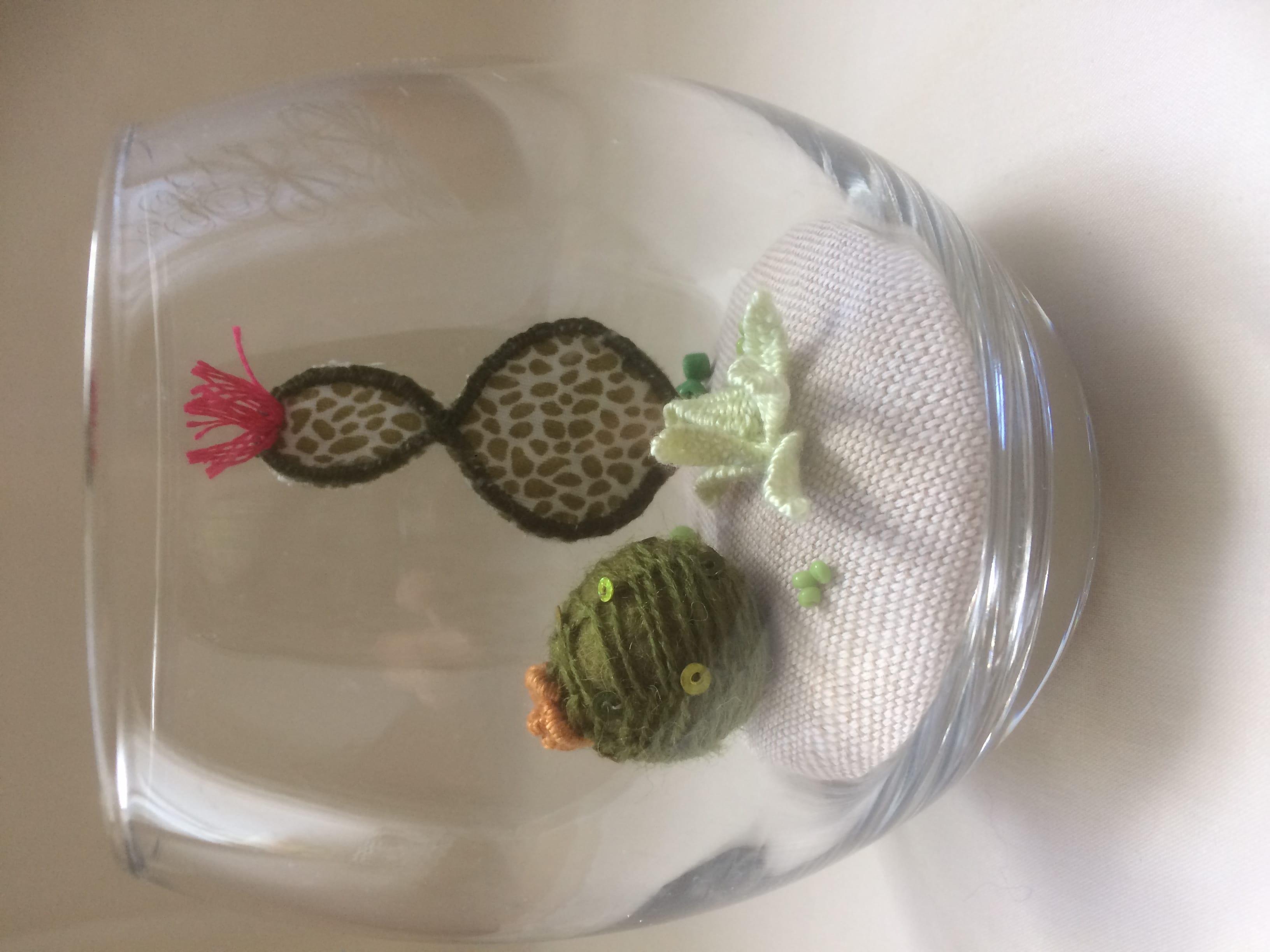 CK Raised Embroidery - Cactus garden
