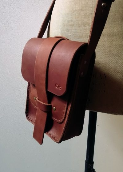 CE Leather Travellers Bag